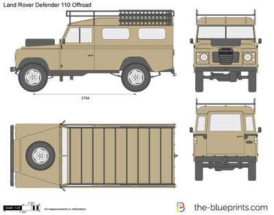 Land Rover Defender 110 Offroad