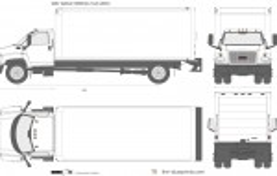 GMC TopKick C6500 Box Truck (2003)