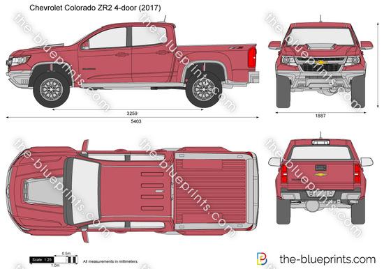 Chevrolet Colorado ZR2 4-door