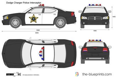 Dodge Charger Police Interceptor
