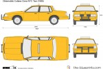 Oldsmobile Cutlass Ciera NYC Taxi (1986)