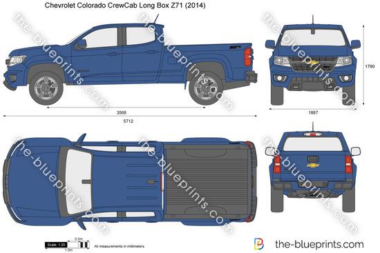 Chevrolet Colorado CrewCab Long Box Z71