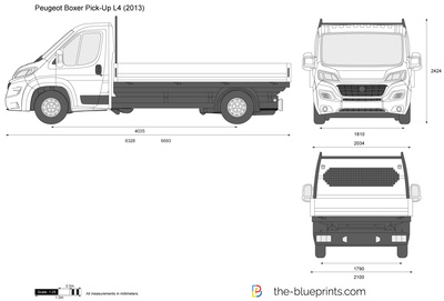 Peugeot Boxer Pick-Up L4