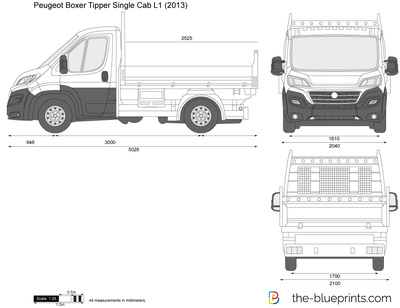 Peugeot Boxer Tipper Single Cab L1