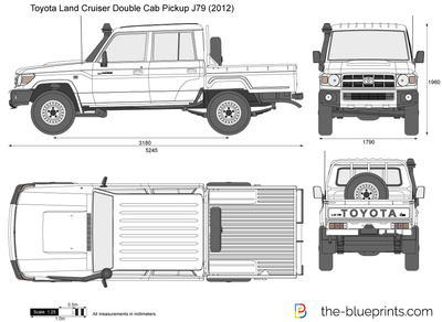Toyota Land Cruiser Double Cab Pickup J79