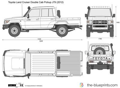 Toyota Land Cruiser Double Cab Pickup J79