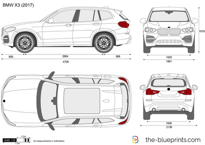 bmw x3 g01 vector drawing. Black Bedroom Furniture Sets. Home Design Ideas