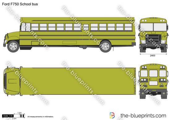 Ford F750 School bus