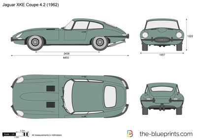 Jaguar XKE Coupe 4.2 (1962)