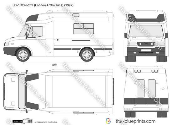LDV CONVOY (London Ambulance)