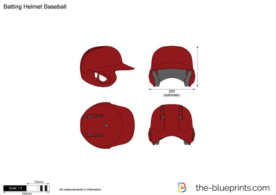 Batting Helmet Baseball