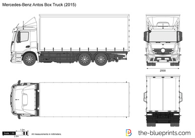 Mercedes-Benz Antos Box Truck