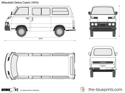 Mitsubishi Delica Coach (1974)