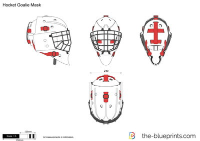 Hocket Goalie Mask