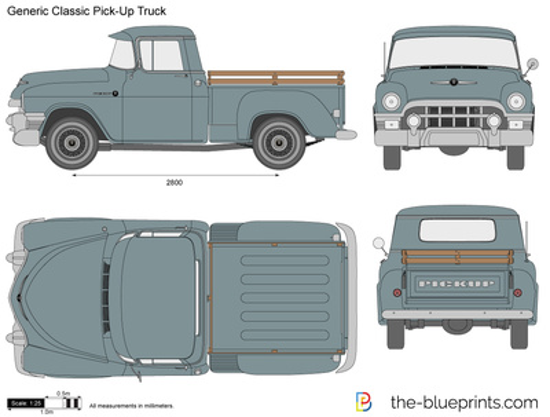 Generic Classic Pick-Up Truck