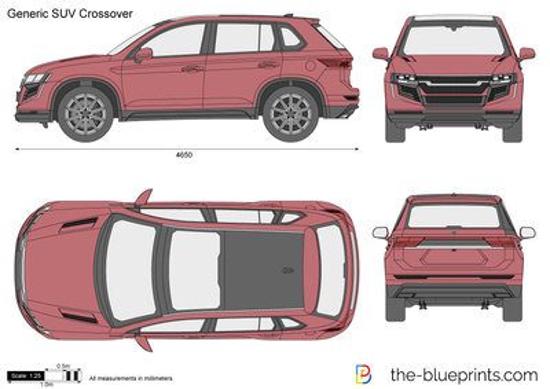 Generic SUV Crossover