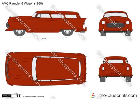 AMC Rambler 6 Wagon