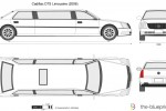 Cadillac DTS Limousine (2006)