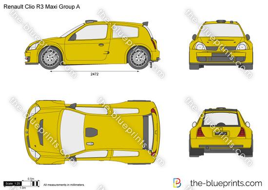 Renault Clio R3 Maxi Group A