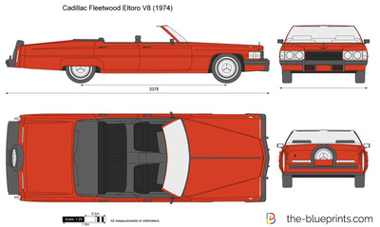 Cadillac Fleetwood Eltoro V8