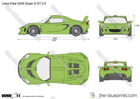 Lotus Elise S240 Super S GT 2.0