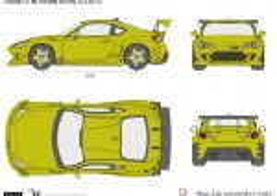 Toyota GT86 Rocket Bunny v3