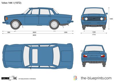 Volvo 144 I (1972)