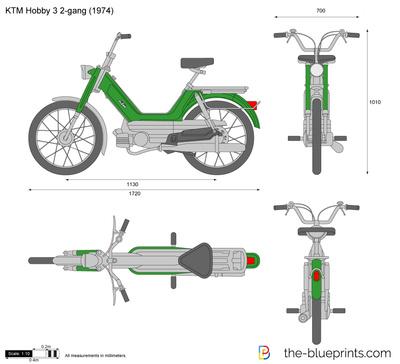 KTM Hobby 3 2-gang