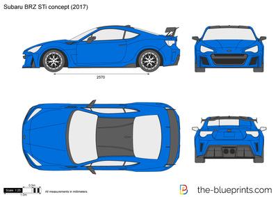 Subaru BRZ STi concept (2017)