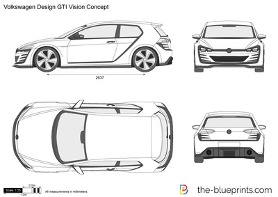 Volkswagen Design GTI Vision Concept