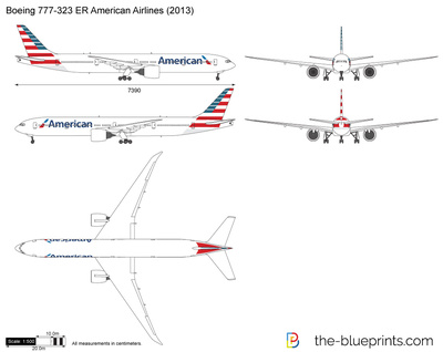 Boeing 777-323 ER American Airlines