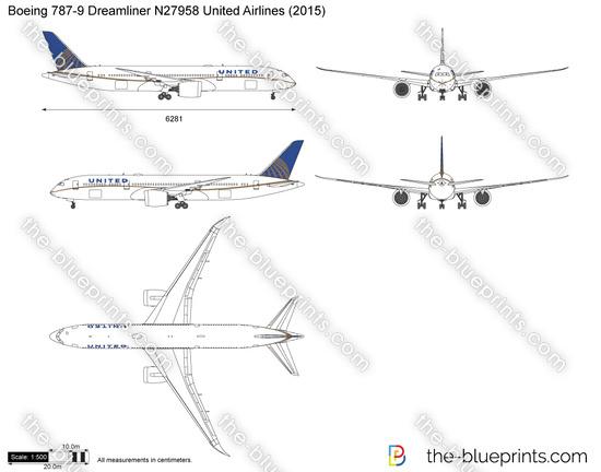 Boeing 787-9 Dreamliner N27958 United Airlines
