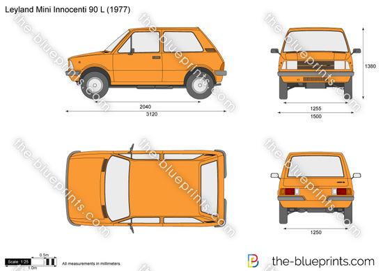 Leyland Mini Innocenti 90 L