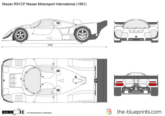 Nissan R91CP Nissan Motorsport International