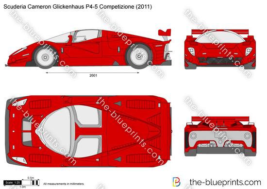 Scuderia Cameron Glickenhaus P4-5 Competizione