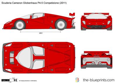 Scuderia Cameron Glickenhaus P4-5 Competizione (2011)