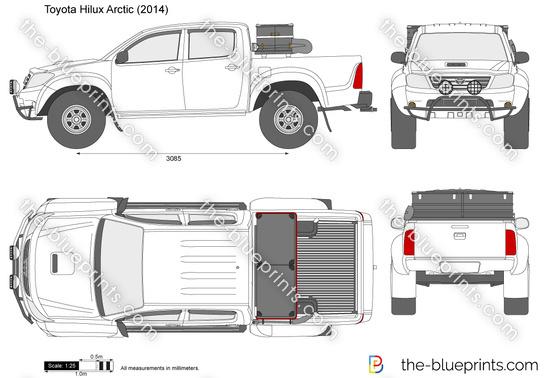 Toyota Hilux Arctic