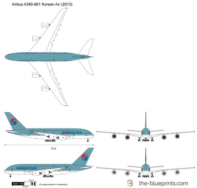 Airbus A380-861 Korean Air