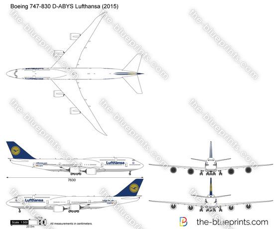 Boeing 747-830 D-ABYS Lufthansa
