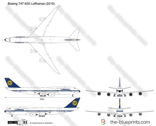 Boeing 747-830 Lufthansa