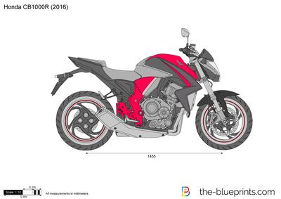 Honda CB1000R (2016)