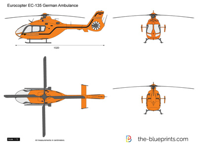Eurocopter EC-135 German Ambulance