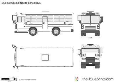 Bluebird Special Needs School Bus
