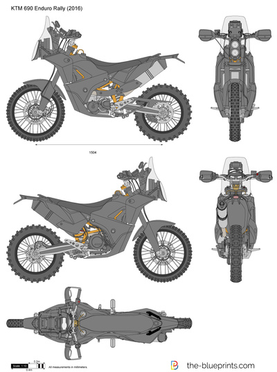 KTM 690 Enduro Rally