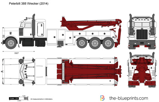 Peterbilt 388 Wrecker
