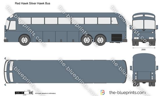 Red Hawk Silver Hawk Bus