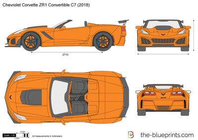 Chevrolet Corvette ZR1 Convertible C7