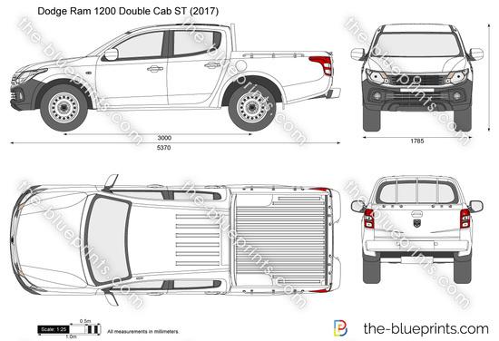 Dodge Ram 1200 Double Cab ST