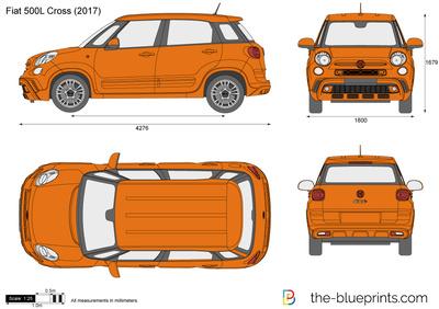 Fiat 500L Cross (2017)