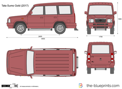 Tata sumo gold vector drawing tata sumo gold malvernweather Images